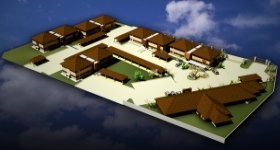 3D Render of Silver Woods Office Park